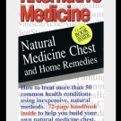 Alternative Medicine Natural Medicine Chest & Home Remedies Video With Softcover Book