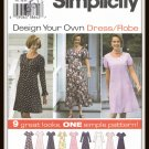 Simplicity Sewing Pattern No. 7046 Design Your Own Dress Sizes P 12 14 16