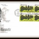 300th Anniversary Jacques Marquette First Day Cover Issue Envelope Stamps 1968