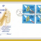 United Nations Salutes The Disarmament Decade First Day Cover Issue Envelope Stamps 1973