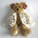 Ty Attic Treasure Eve The Tan Teddy Bear Girl Retired Plush