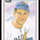 1983 Ted Williams #9 Donruss Hall Of Fame Heroes Baseball Trading Card