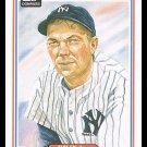 1983 Bill Dickey #26 Donruss Hall Of Fame Heroes Baseball Trading Card