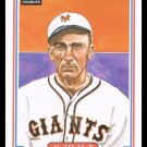 1983 Carl Hubbell #33 Donruss Hall Of Fame Heroes Baseball Trading Card
