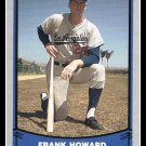1988 Frank Howard #17 Baseball Legends Trading Card Pacific