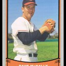 1988 Dave McNally #38 Pacific Baseball Legends Trading Card