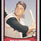 1988 Ted Kluszewski #72 Pacific Baseball Legends Trading Card