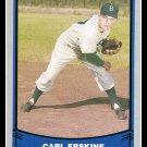 1988 Carl Erskine #75 Pacific Baseball Legends Trading Card