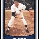1988 Sal Maglie #85 Pacific Baseball Legends Trading Card