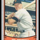 1988 Del Crandall #98 Pacific Baseball Legends Trading Card