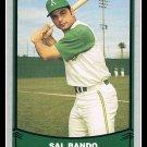 1988 Sal Bando #99 Pacific Baseball Legends Trading Card