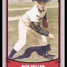 1988 Bob Feller #101 Pacific Baseball Legends Trading Card