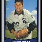 1989 Wilbur Wood #124 Pacific Baseball Legends Trading Card