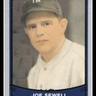 1989 Joe Sewell #125 Pacific Baseball Legends Trading Card