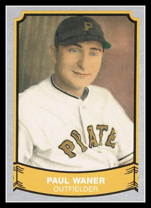 1989 Paul Waner #127 Pacific Baseball Legends Trading Card