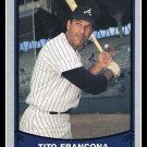 1989 Tito Francona #133 Pacific Baseball Legends Trading Card