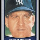 1989 Enos Slaughter #137 Pacific Baseball Legends Trading Card