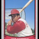 1989 Jose Cardenal #149 Pacific Baseball Legends Trading Card