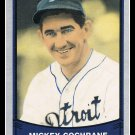 1989 Mickey Cochrane #151 Pacific Baseball Legends Trading Card