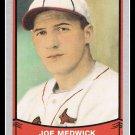 1989 Joe Medwick #160 Pacific Baseball Legends Trading Card