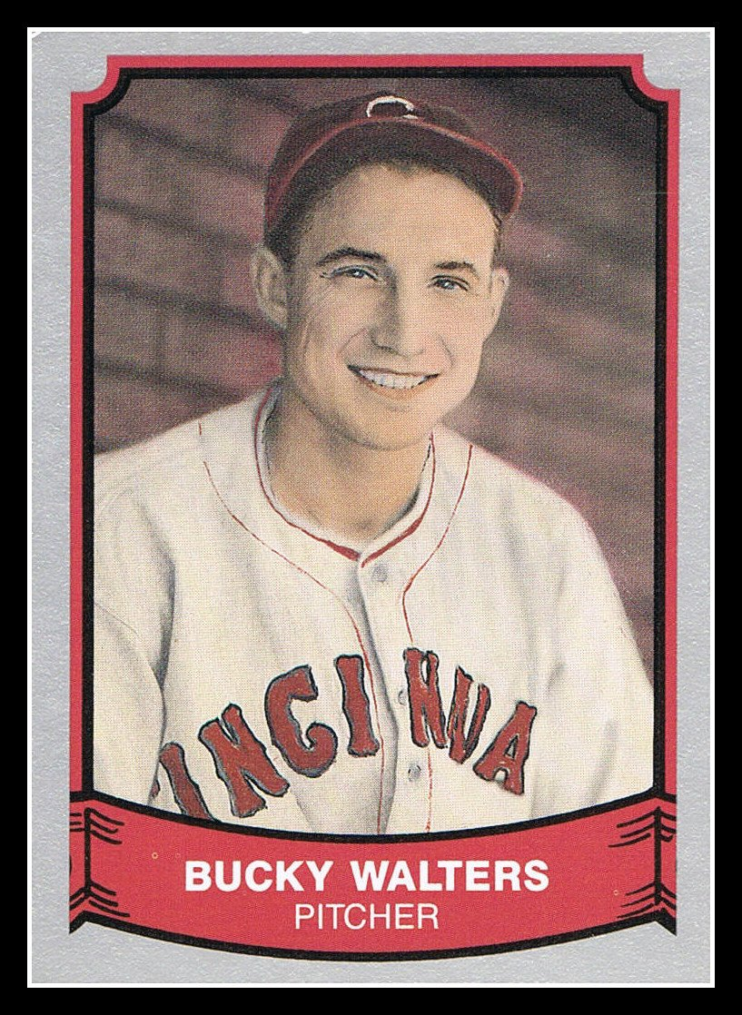 1989 Bucky Walters #164 Pacific Baseball Legends Trading Card