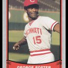 1989 George Foster #173 Pacific Baseball Legends Trading Card