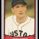1989 Lefty Grove #185 Pacific Baseball Legends Trading Card