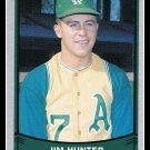 1989 Jim Catfish Hunter #193 Pacific Baseball Legends Trading Card