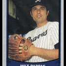 1989 Milt Pappas #204 Pacific Baseball Legends Trading Card