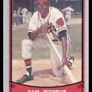 1989 Sam Jethroe #206 Pacific Baseball Legends Trading Card