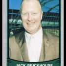 1989 Broadcaster Jack Brickhouse #209 Pacific Baseball Legends Trading Card