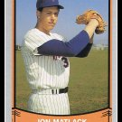1989 Jon Matlack #214 Pacific Baseball Legends Trading Card