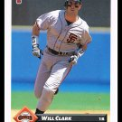 1993 Will Clark #446 Series 2 Donruss Baseball Trading Card
