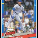 1991 Randy Johnson #BC-2 Donruss Baseball Trading Card