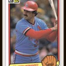 1983 Keith Hernandez #152 Donruss Baseball Trading Card