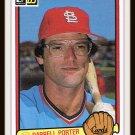 1983 Darrell Porter #278 Donruss Baseball Trading Card