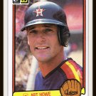 1983 Art Howe #396 Donruss Baseball Trading Card