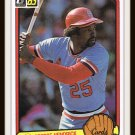 1983 George Hendrick #404 Donruss Baseball Trading Card