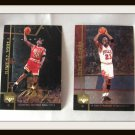 Michael Jordan Hologram Large Basketball Trading Cards Set Of 6 Upper Deck