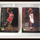 Michael Jordan Hologram Large Basketball Trading Cards Set Of 6 Upper Deck