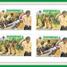 Dominica Stamps Caribbean Boy Scout Jamboree Jamaica 1977