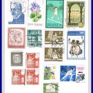 Worldwide Postage Stamps Belgium Jamaica Romania Austria Soviet Union Japan Hungary