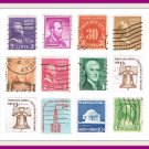 Vintage United States USA Postage Stamps 12