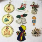 Collectible Holiday Christmas Tree Ornaments Strawberry Shortcake Dumbo & More