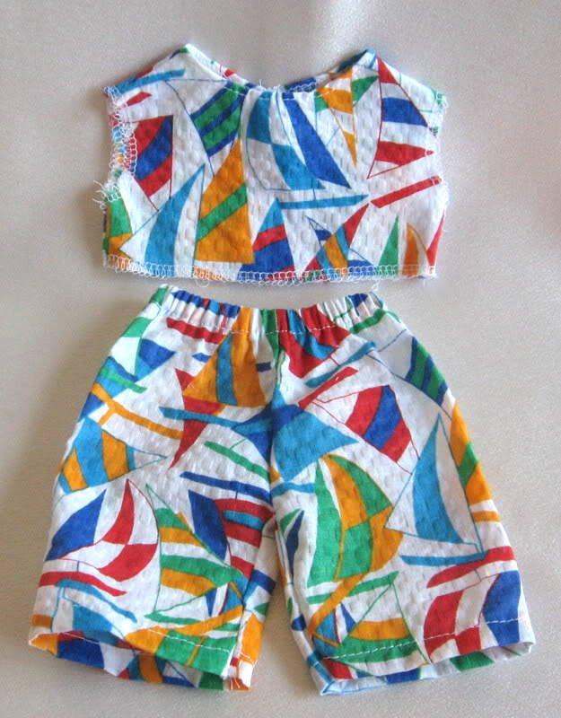 Doll Clothes Handmade 9 Pc. Mixed Lot