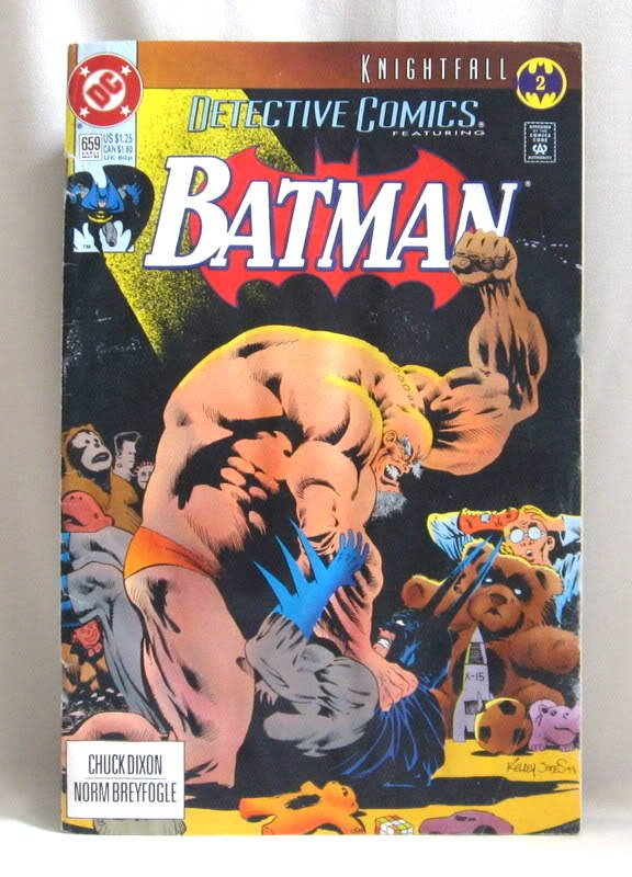 Detective Comics Featuring Batman No. 659 Book 1993