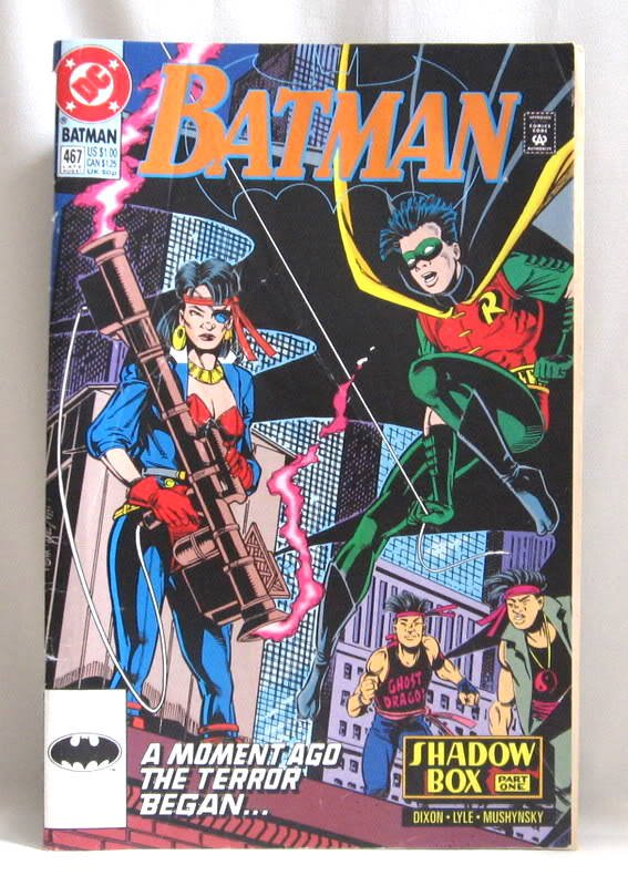 Batman No. 467 Comic Book August 1991