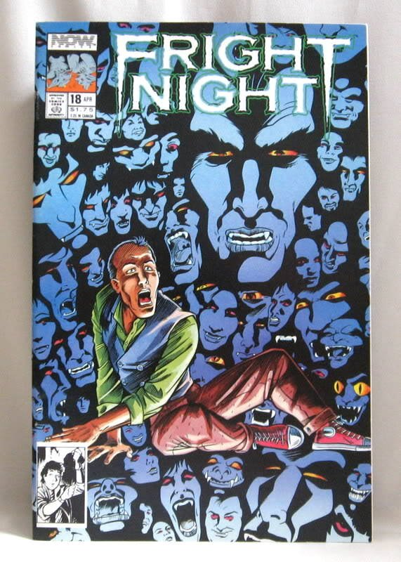 Fright Night Vol 1 No. 18 Comic Book Now Comics 1990