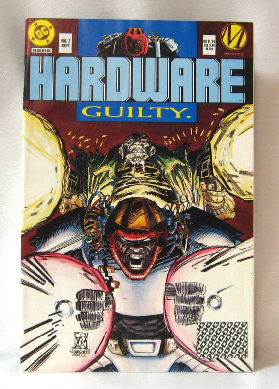 Hardware Guilty No. 7 Comic Book September DC Comics 1993
