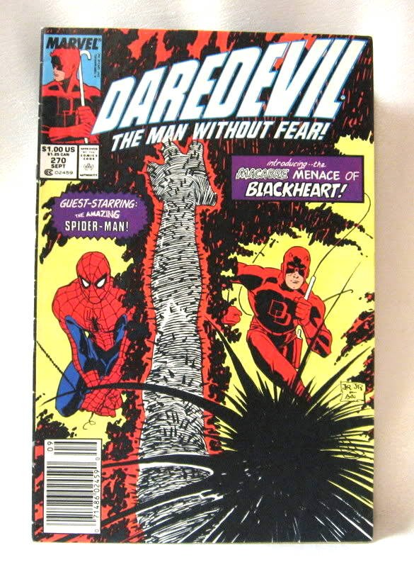 1989 Daredevil Comic Book Vol. 1 #270 Sept. Marvel Comics